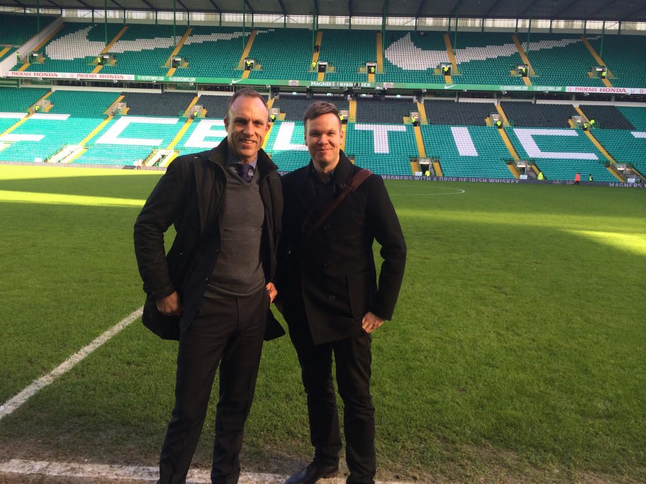 David Moss and I.
